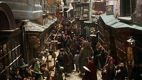 """Résultat de recherche d'images pour """"chemin de traverse harry potter"""""""