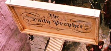 Pancarte de La Gazette du Sorcier
