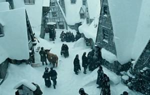 Pré-Au-Lard sous la neige