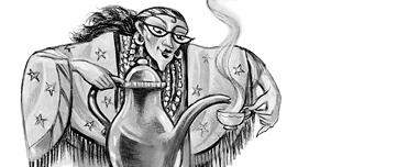 Fan art de Trelawney par Mary GrandPré