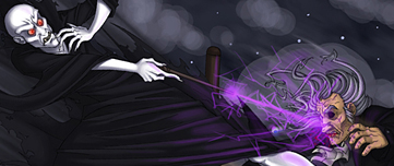 Fan art de Voldemort vainquant Fol Oeil