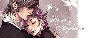 Fan art de Lupin et Tonks