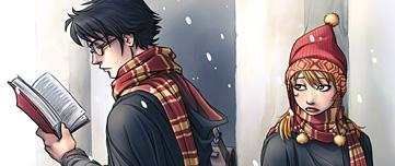 Dessin de Ginny se languissant de Harry