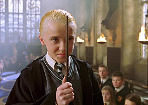 Malefoy face à Harry au Club de Duel dans CS/f