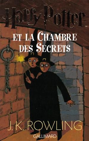 Dessin de la couverture de Harry Potter et la Chambre des Secrets