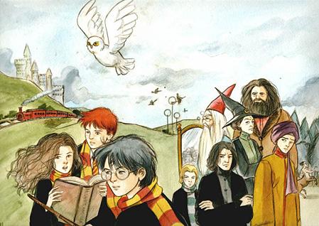 Personnages de Harry Potter à l'Ecole des Sorciers