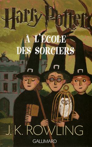 Dessin de la couverture de Harry Potter à l'Ecole des Sorciers