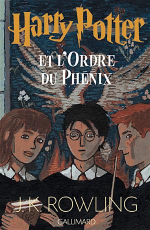 Couverture Harry Potter et l'Ordre du Phénix