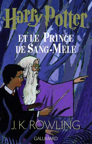 Dessin de la couverture de Harry Potter et le Prince de Sang-Mêlé