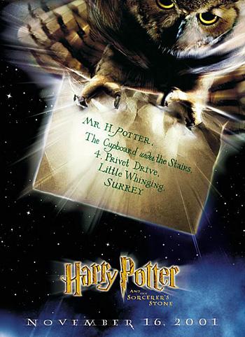Affiche de Harry Potter à l'École des Sorciers