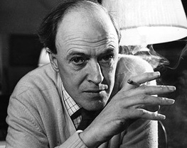 Roald Dahl dans les années 80