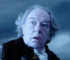 Michael Gambon dans « Sleepy Hollow » de Tim Burton (1999)