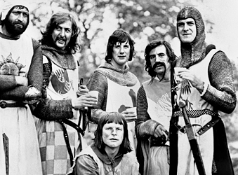 Les Monty Python dans »Monty Python and the Holy Grail » (1975)