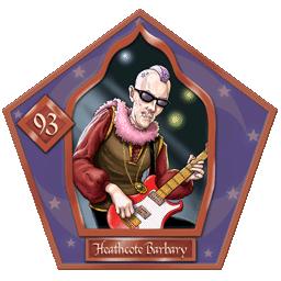 Carte chocogrenouille 93, Heathcote Barbary