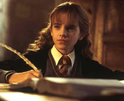 Hermione au travail dans CS/f