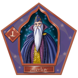 Carte chocogrenouille 1, Merlin