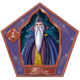 Carte chocogrenouille 1, Merlin