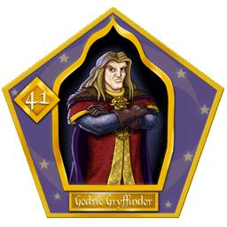 Carte chocogrenouille 41, Godric Gryffondor