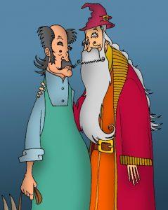 Portrait des Dumbledore