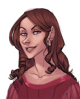 Portrait d'Andromeda Black