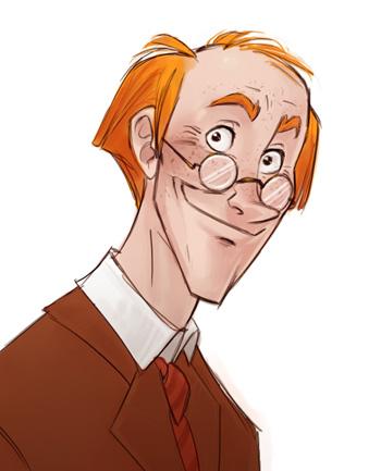 Portrait d'Arthur Weasley
