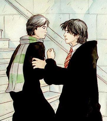 Sirius et Regulus à Poudlard
