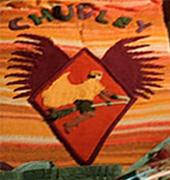 """""""Logo"""" des Canons de Chudley sur le couvre-lit de Ron dans CF/f © 2005 Warner Bros."""