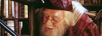 Dumbledore, Harry et Fumseck dans CS/f