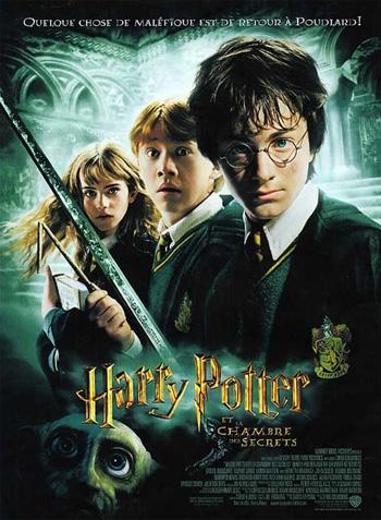 Harry Potter et la Chambre des Secrets (affiche)