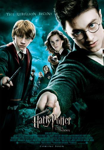Harry Potter et l'Ordre du Phénix (affiche)