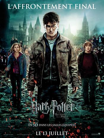 Harry Potter et les Reliques de la Mort, deuxième partie (affiche)