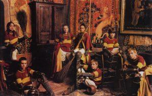 L'équipe de Quidditch de Gryffondor en 1991 dans ES/f
