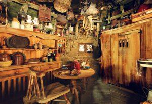 Intérieur de la cabane de Hagrid dans CS/f)