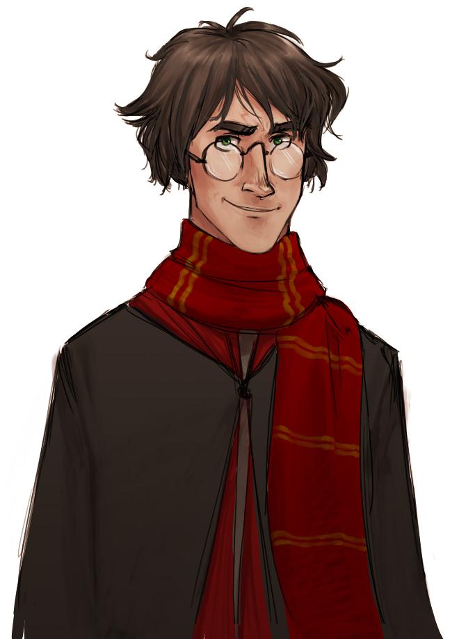 Portrait de Harry Potter © 2007 Makani