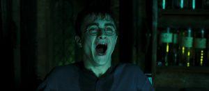 Harry durant ses leçons d'Occlumancie dans OP/f