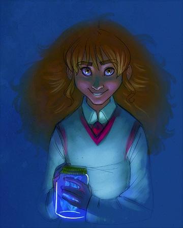 Hermione et ses Flammes Bleues