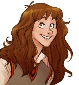 Portrait d'Hermione Granger