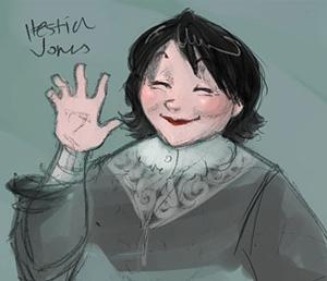 Portrait de Hestia Jones