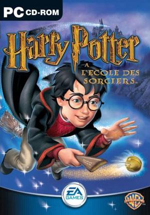 Harry Potter à l'École des Sorciers (pochette)