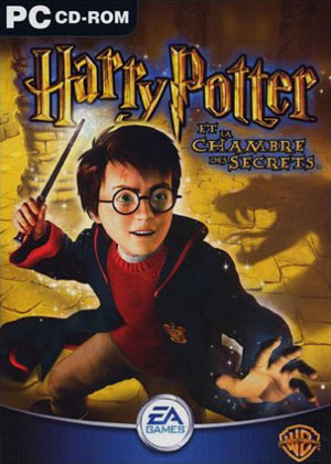 Harry Potter et la Chambre des Secrets (pochette)