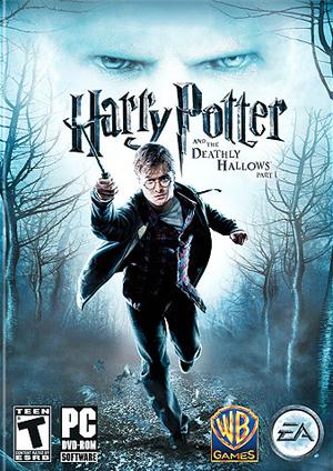 Harry Potter et les Reliques de la Mort, première partie (pochette)