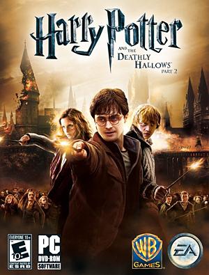 Harry Potter et les Reliques de la Mort, deuxième partie (pochette)