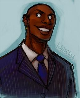 Portrait de Kingsley Shacklebolt