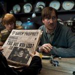 Ron, Harry et Lupin dans la cuisine du 12, square Grimmaurd dans OP/f