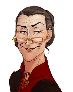 Portrait de Minerva McGonagall