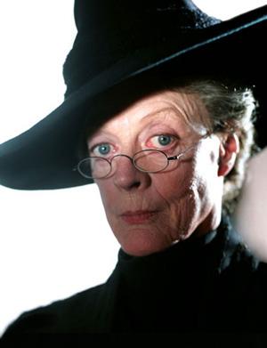 Portrait de Minerva McGonagall dans PA/f