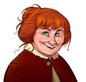 Portrait de Molly Weasley