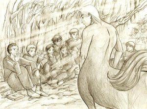 Le cours de divination de Firenze © 2003 Marta T.