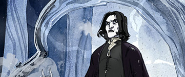 Rogue, son Patronus et l'épée de Gryffondor