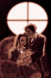 Portrait de la famille Potter